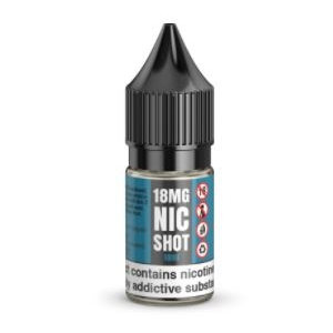 Unflavoured Nicotine Shots 10ml 18mg