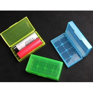 Hard Plastic battery storage box 2x 18650 - 4x 16340