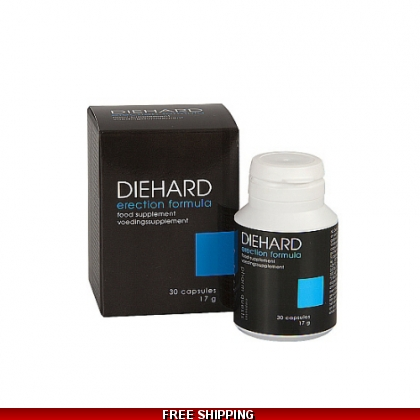 20 x DIEHARD ERECTION PILLS