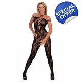 Catsuit with Lace Up Front