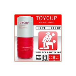 DOUBLE HOLE MASTURBATION CUP