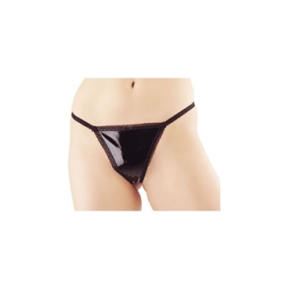 PVC LADIES THONG