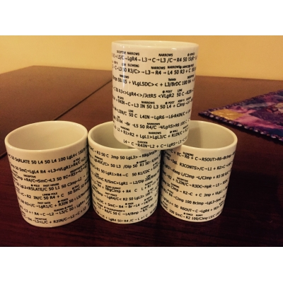 Isle of Mull 'long one Stage' pacenote mugs 4 for full Stage
