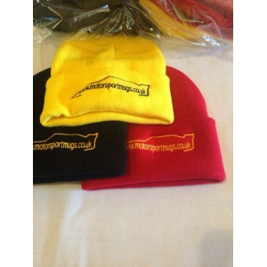 Motorsport mugs beanie hat