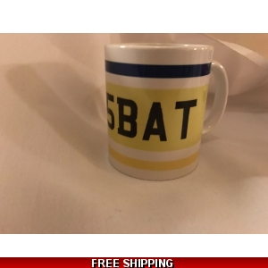 Rally Number plate mugs