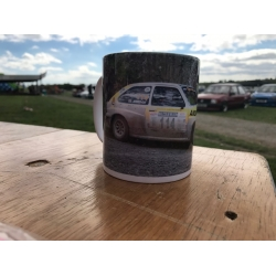 vauxhall chevette Rally Car 11oz ceramic mug