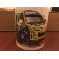 koolart cartoon renault megane kit car Rally Car..
