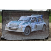 Rally car Photo wallet