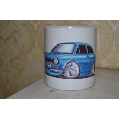 koolart Mk1 Mexico   Car 10oz white ceramic mug