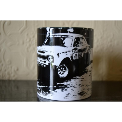 MK1 Escort Rally Car 11oz ceramic mug