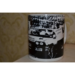 AC Delco Opel Manta Rally Car 11oz ceramic mug
