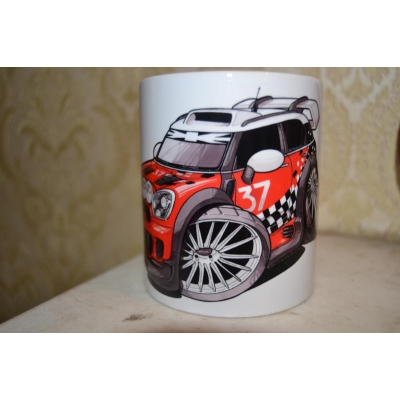 koolart Mini Cooper WRC  Rally Car Mug