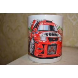 koolart Mitsubishi Tommi Rally Car Mug