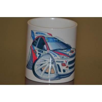 koolart Focus  Rally Car mug