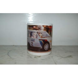 Peugeot 205 T16 Rally Car 11oz ceramic mug