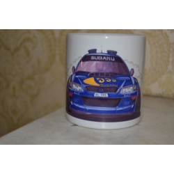 Koolart Subaru McRae Rally Car 1998 photo printed mug 10oz