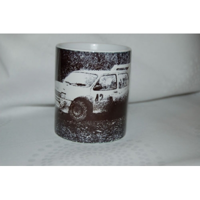 Metro 6r4 Rally Car 11oz ceramic mug