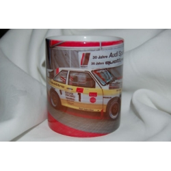 Audi Quattro Rally Car 11oz ceramic mug