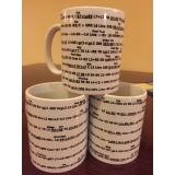 Col de Turini Numbered Pacenote mugs
