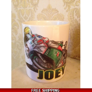 Koolart joey Dunlop  11 oz mug