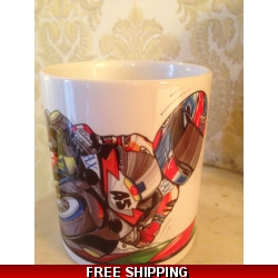Koolart Edwards moto gp  11 oz mug