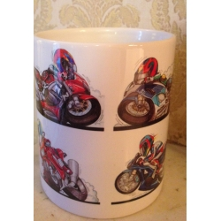 Koolart 4 bike selection gp 11 oz mug