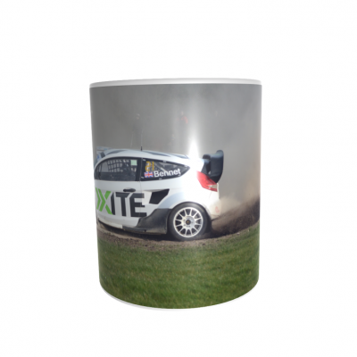 Oliver Bennett  Rallycross Car 11oz ceramic mug COPY COPY