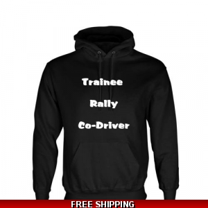 Trainee rally co-driver Hoodie
