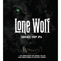 Res. Dogs Lone Wolf Single Hop IPA 330ml