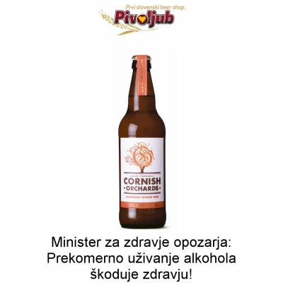 Cornish Alcoholic Ginger Beer 500ml