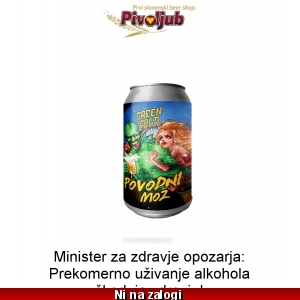 Ploč. Green Gold Povodni Mož 330ml
