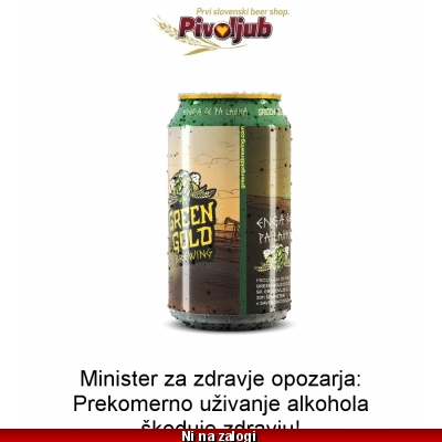 Ploč. Green Gold Hop Princess 330ml