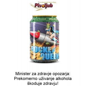 Ploč. Green Gold Rocket Queen 330ml