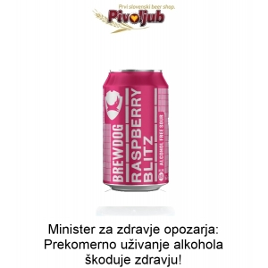 Raspberry Blitz 330ml ploč.
