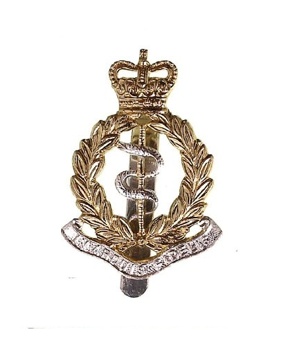Royal Army Medical Corps Beret Cap Badge