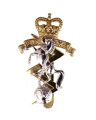 Royal Electrical & Mechanical Engineers Beret Cap Badge