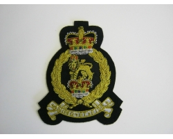 AGC Embroidered Bullion Blazer Badge
