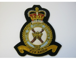 RAF Regiment Bullion Blazer Badge
