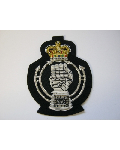 Royal Armoured Corps Bullion Blazer Badge