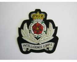Intelligence Corps Bullion Blazer Badge