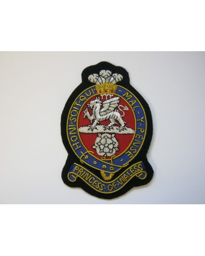 PWRR Bullion Blazer Badge