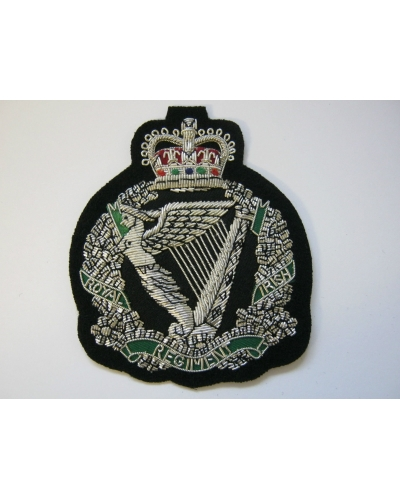 Royal Irish Regiment Bullion Blazer Badge