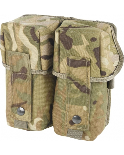 Molle Double Ammo Pouch in MTP