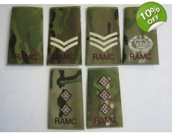 Royal Army Medical Corps Multicam Rank..