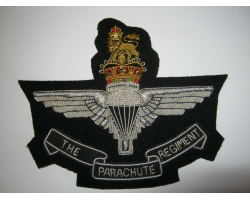 Parachute Regiment Bullion Blazer Badge