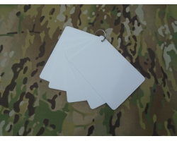 Waterproof Battle Slate Cards A5 - 5 C..