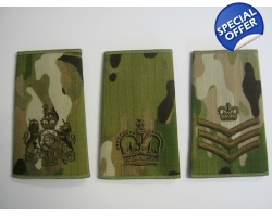 1 Pairs - Multicam Rank Slides with BR..