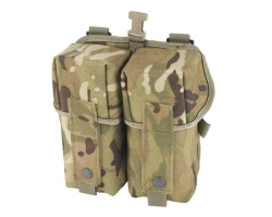 PLCE Double Ammo Pouch in genuine MTP