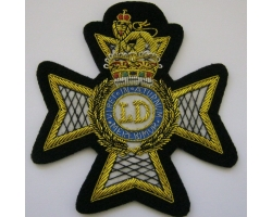 Light Dragoon Guards Blazer Badge