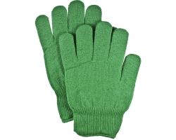 Thermal Meraklon Glove Liner in Green